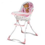 protable fold baby high chair, net weight about 5.8kg