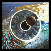 "Pink Floyd ""Pulse"" Album Cover Framed Print, Multi-Colour, 30cm"