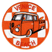 Vintage Style Venice Beach Surfer Shirt Patch 9cm - Badge - Patches - 70's - 80's - Surfing - Surf - Surfboard - Bag - Shorts - Jacket - Board - Shorts - Applique