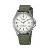 New Rxd425l8 Lorus Gents Military Style Titanium Webbing Strap Watch