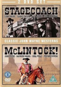 Stagecoach And Mclintock  John Wayne Uk Release Sealed R2 [2 Discs]