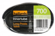 Halfords Presta Type Valve Bike Inner Tube - 700c X 18-25c / 18mm X 25mm X 622mm