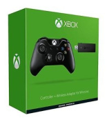 Official Microsoft Xbox One Wireless Controller + Windows 10 Adapter New Sealed