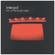 Interpol-turn On The Bright Lights Cd Import, Single New