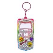 Claire's Girl's Emoji Bling Flip Phone Strawberry Flavoured Lip Gloss Set