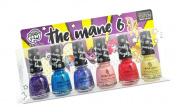 China Glaze Nail Polish Lacquer The Mane 6 Pony Mini kit 6 Colours x 5ml