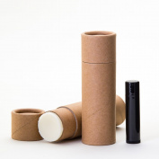 70ml Kraft Paperboard Lip Balm/Deodorant/Cosmetic/Lotion Tubes x12
