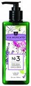 Pre de Provence via Mercato Liquid Hand Soap, Pepe Rose, Lavender & Vanilla, 12 Fluid Ounce