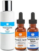 HAWRYCH MD 20% Vitamin C Hyaluronic Acid Facial Cleansing Gel Set