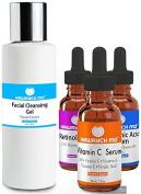 HAWRYCH MD 20% Vitamin C Retinol Hyaluronic Acid Facial Cleansing Gel Set