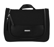 Bugatti Contratempo Toiletry Bag with Sturdy Hook for Men & Women, Premium Grooming Bag