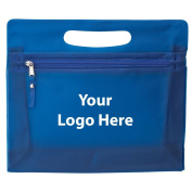 Zip Pouch - 200 Quantity - $2.50 Each - PROMOTIONAL PRODUCT / BULK / BRANDED with YOUR LOGO / customised