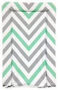 My Babiie Mint Green Chevron Changing Mat. From The Official Argos Shop On