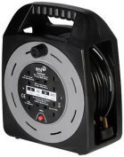 Smj Ct2513 - 4skt 25mtr 13a Cable Reel With Thermal Cut-out
