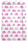 My Babiie Billie Faiers Pink Nelly Elephant Changing Mat. From Argos On