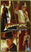 Indiana Jones Quadrilogy 1 -  Box Set All 4 Movie Films Part 1 2 3 4 New Uk [4 Discs]