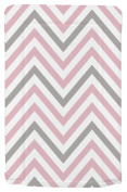 My Babiie Pink And Grey Chevron Changing Mat. From The Argos Shop On