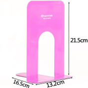 Office large book colourful metal book shelves students creative Bookends baffle stationery