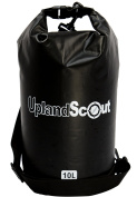 Dry Bag by Upland Scout, 100% Waterproof Dry Bag, Full Protection For Your Valuables While Camping, Hiking, Fishing, Kayaking, Beach, Swimming, & Boating