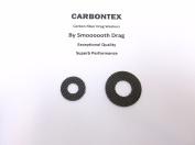 SHIMANO REEL PART - Calcutta 200 - (2) Smooth Drag Carbontex Drag Washers #SDS40