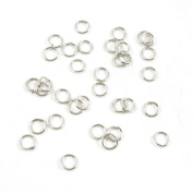 Price per 18830 Pieces Antique Silver Tone Jewellery Making Charms Supply L2RY2 Jump Ring 5mm