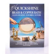 Brass & Copper Clean And Shine Bath - Quick Metal Cleaner 4 Sachets Dipping