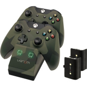 Venom Twin Dock Charging Station Camo Edition Xbox One -