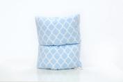 Pello Comfy Cradle - Slip-on Arm Pillow for Baby Nursing - Reversible, Adjustable, Washable, Durable, Jack/ Blue