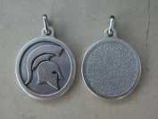 Rome Medal Pendant Elmo Spartan Roman Warrior Sparta