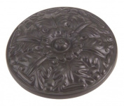 Atlas Homewares 138-O 3.8cm The Classics Collection Ornate Small Round Hammered Knob, Aged Bronze