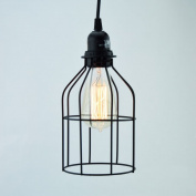 Fantado Bottle Shaped Vintage Edison Light Bulb Cage for Pendant Lights by PaperLanternStore