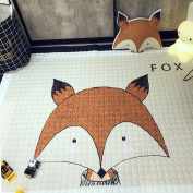 Thick Cotton Baby Crawling Mat Cute Fox Play Carpet Children Bedroom Decor Living Room Rugs by IHEARTYOU