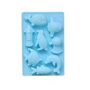 Inverlee Sea World Dolphin Silicone Baking Ice Cookie Chocolate Mould
