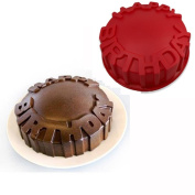 InverleeHappy Birthday Silicone Baking Ice Cookie Night Party Mould