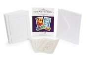 Silk Painting Cards - Animal Pack Includes 5 Cards, Envelopes and Pre-printed Silk Designs