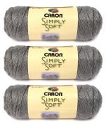 Simply Soft Heather Yarn-Soft Grey