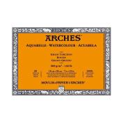 Arches 60kg. Rough Block 18cm x 25cm - Natural White