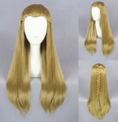Jooyi® Unisex Straight Styled Party Costume Cosplay Wigs Long Blonde