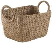 Compactor Home Storage Large Water Hyacinth Caracas Basket, Brown