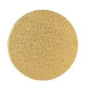 "15"" GOLD ~ ROUND CAKE DRUM BOARD ~ 13MM THICK"