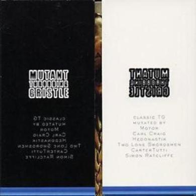 Throbbing Gristle : Mutant Tg Cd (2004) ***new***