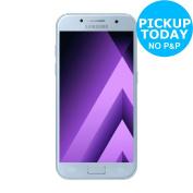 Sim Free for Samsung Galaxy 12cm 13mp 16gb A3 Mobile Phone - Blue Mist