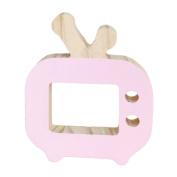 super1798 Cartoon Wooden Toys Creative Mini TV Ornaments Kids Room Decoration Accessory -
