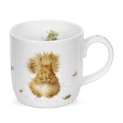 Wrendale By Royal Worcester Treetops Redhead Squirrel Single Mug. Huge Saving