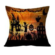 ✿Moseâ . !Fashion Halloween Pillow Case, Home Decor Sofa Waist Throw Cushion Cover