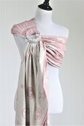 Bibetts 'Outer-space Pink' Ring Sling Baby Carrier - CPSIA compliant - Infant, Toddler and Baby Carrier