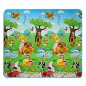 Vansop 2x1.8m Baby Kids Picnic Cushion Crawling Two Sides Playing Activity Pad Play-Mat US Stocks