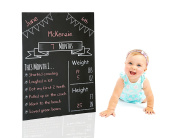 Milestones Monthly Babyboard Chalkboard, Photo prop, baby shower gift, social media photo prop