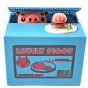 Automatic Money Box Novelty Gift Piggy Bank for Kids