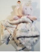 Elephant Grey & White NuNU Blanket & Beyond
